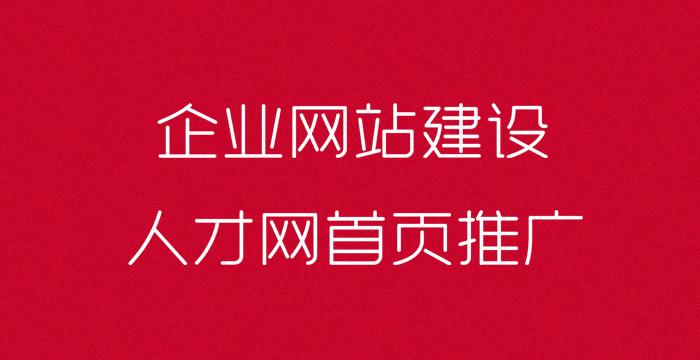 泗阳企业网站建设,人才网首页推广